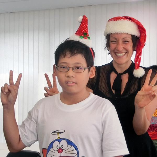 英語でクリスマス1